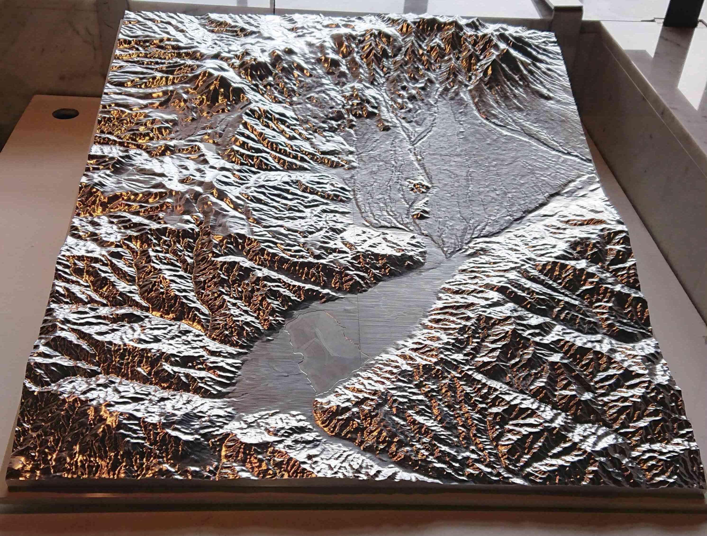 諏訪盆地と八ヶ岳
